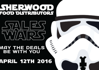 Sales Wars Invite | Print Front