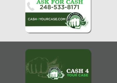 Cash4Case Business Cards