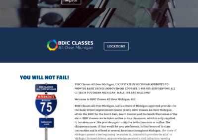 BDIC Classes Website